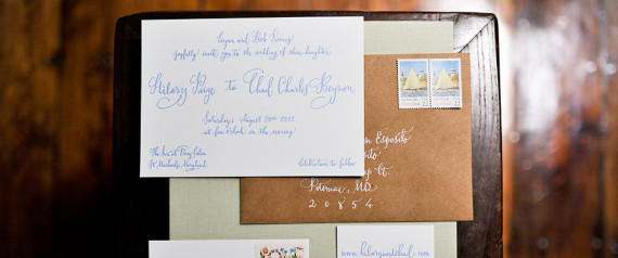 Should Wedding Invitations Be Hand Addressed: Wedding Invitations Really Should Be Addressed By Hand