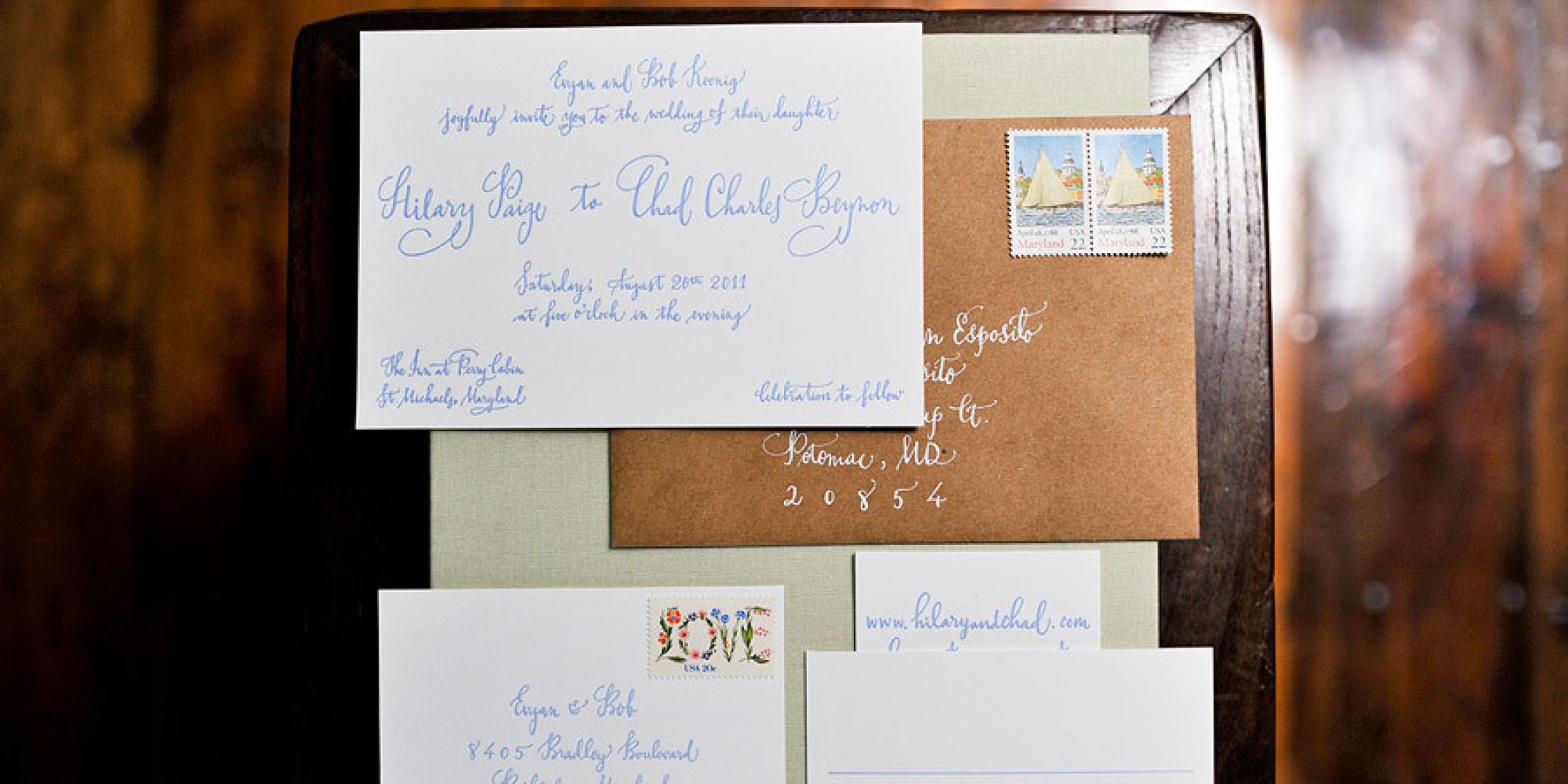 When To Mail Wedding Invitations Emily Post: Wedding Invitations Really Should Be Addressed By Hand