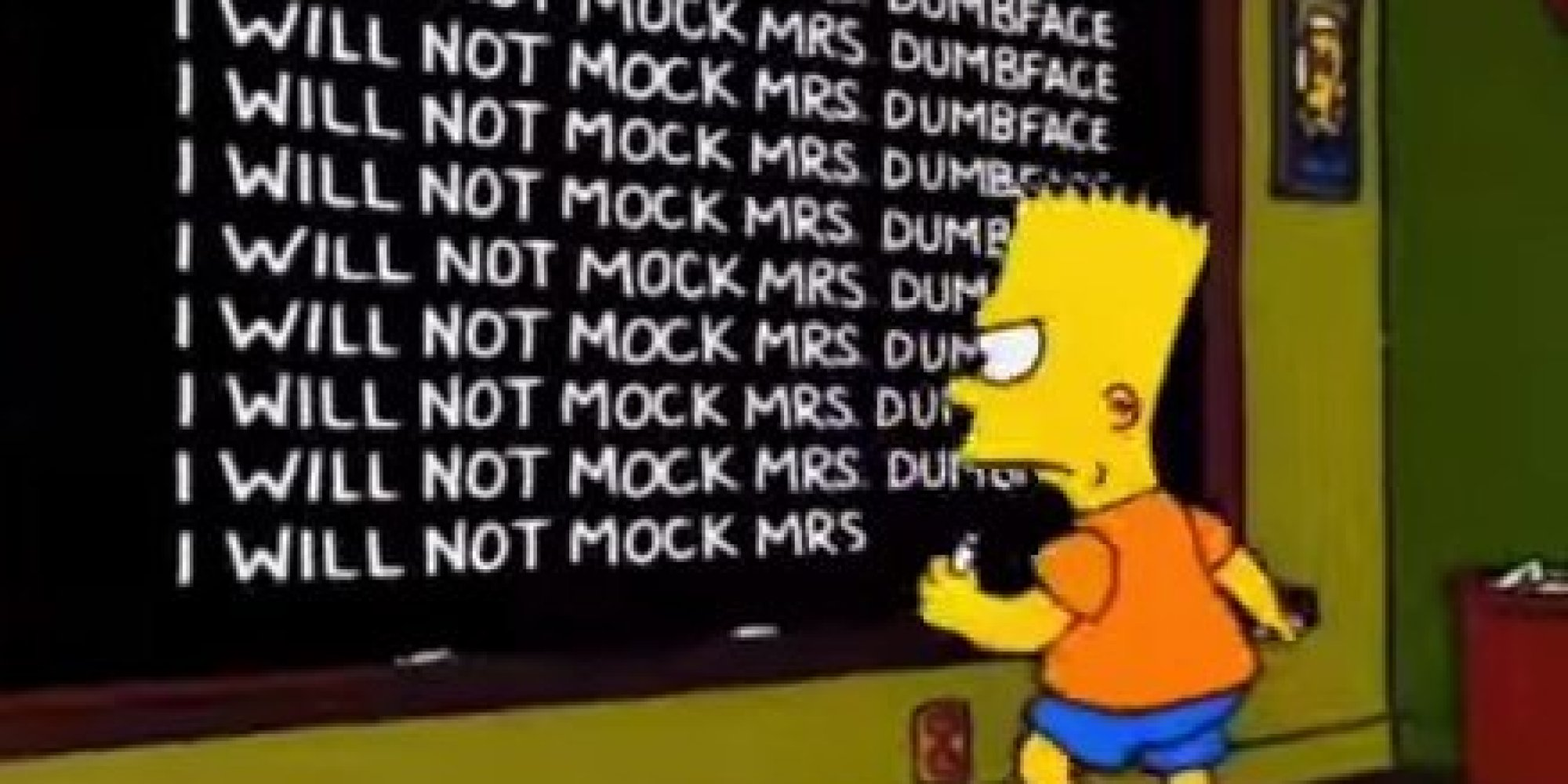 22 Of The Best Simpsons' Chalkboard Gags | HuffPost