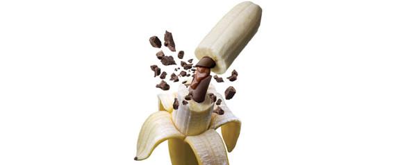 BANANA CHOCOLATE FILLED