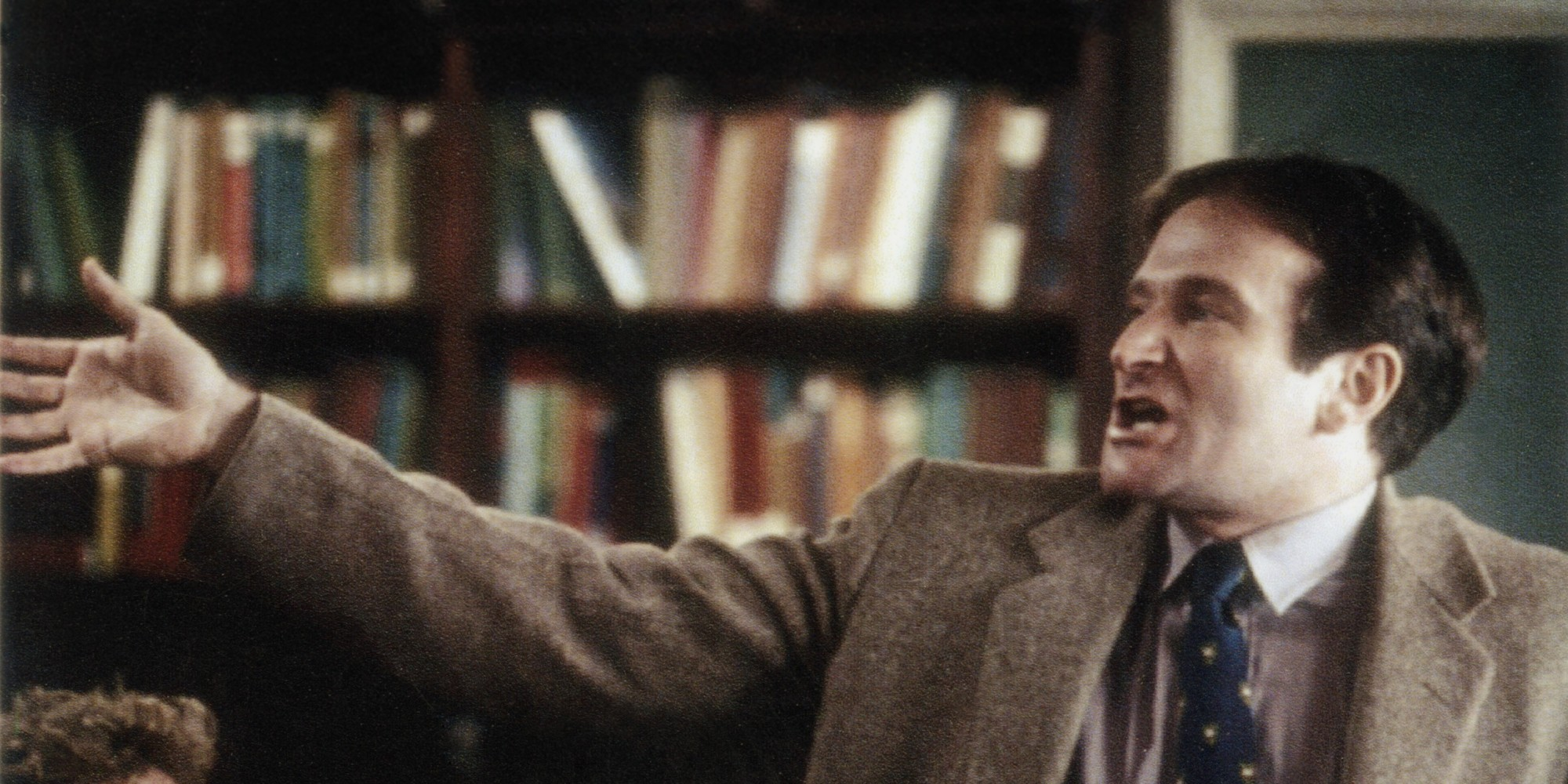 robin williams essay robin williams and the o captain scene that inspired a generation the huffington post