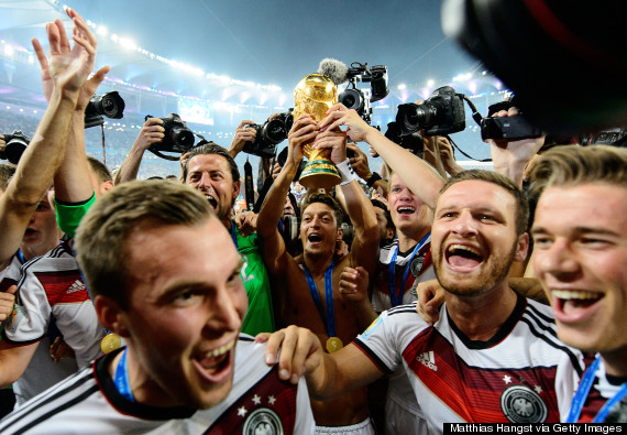 germany world cup trophy