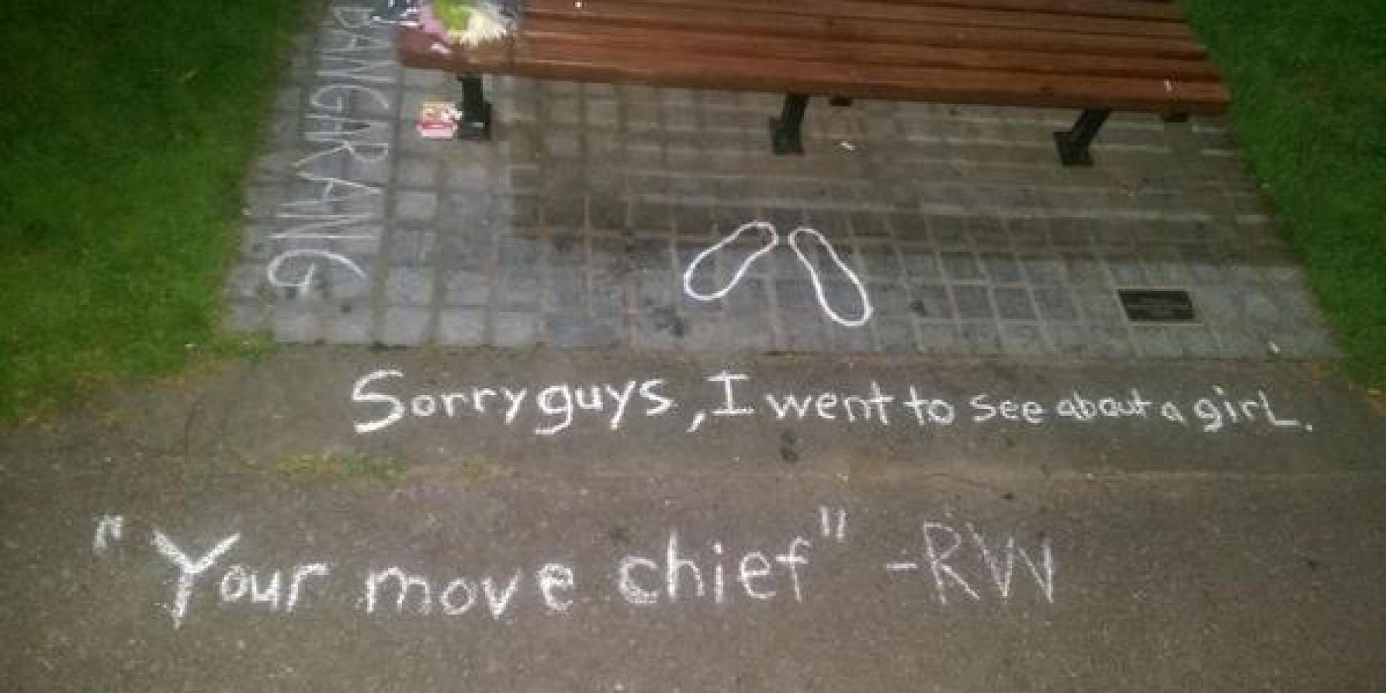 Robin Williams Dead Good Will Hunting Fan Leaves Poignant