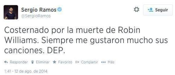 sergio ramos robin williams