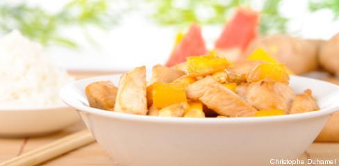 poulet mangue