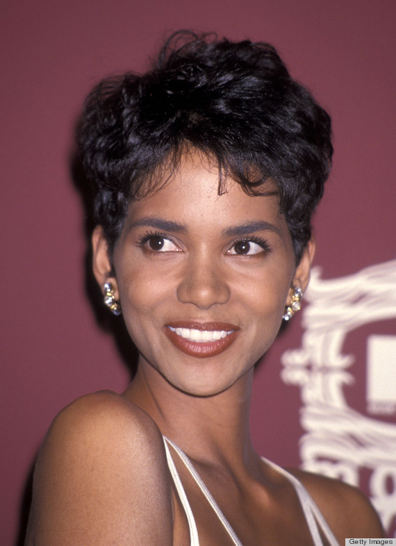 An Ode To Halle Berry S Pixie Huffpost