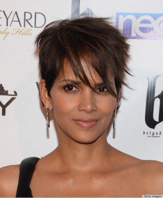 halle berry haircut