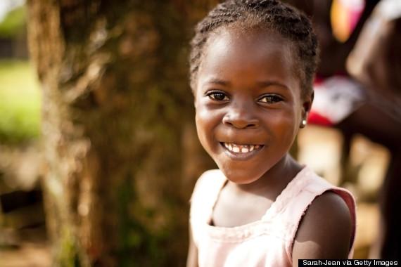smiling africa girls