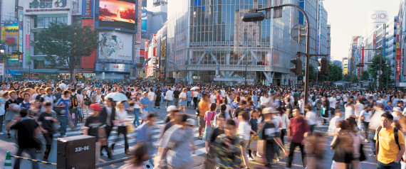 JAPAN TOKYO CITY VIEW SHIBUYA