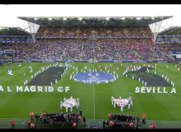 Spot The Super Cup Opening Ceremony Malfunction