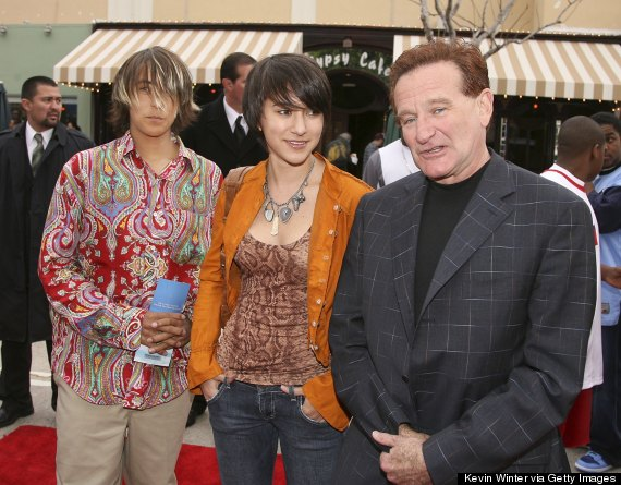 robin williams children