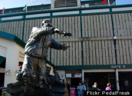 Harry Caray Statue