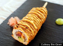 The Spicy Tuna Roll Corn Dog Is What America Does With Sushi