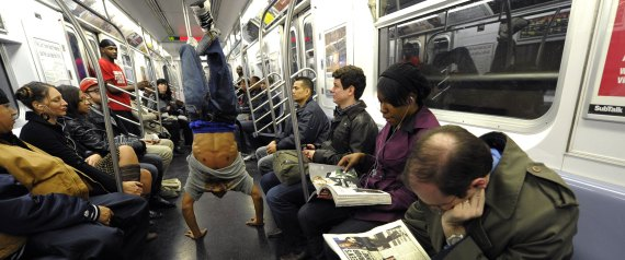 NEW YORK SUBWAY DANCER