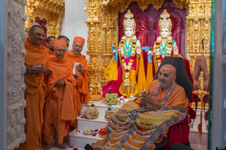 New Jersey Welcomes BAPS Hindu Temple -- One Of The Only ...