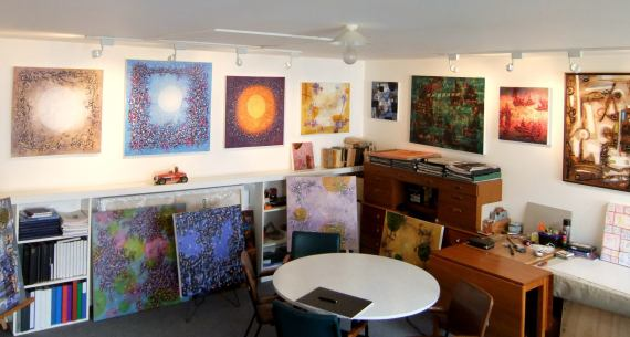 Home Art Studio Design 44 stunning art studios that will inspire you to get back to work
