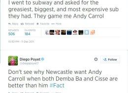 Awkward! New West Ham Boy Poyet's Anti-West Ham Tweets Discovered