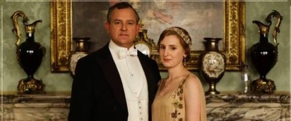downton abbey water bottle photo fail