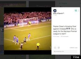 The Premier League Just Declared War On 'Illegal' Vine Goal Videos