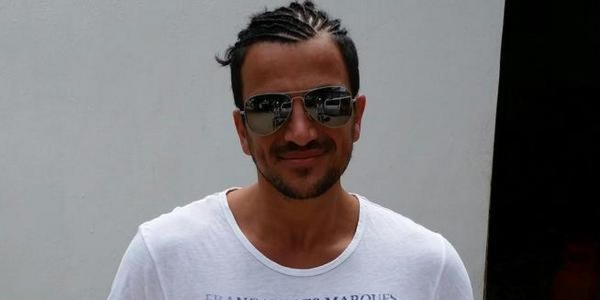 Peter Andre Shows Off His Dodgy Cornrows In Twitter