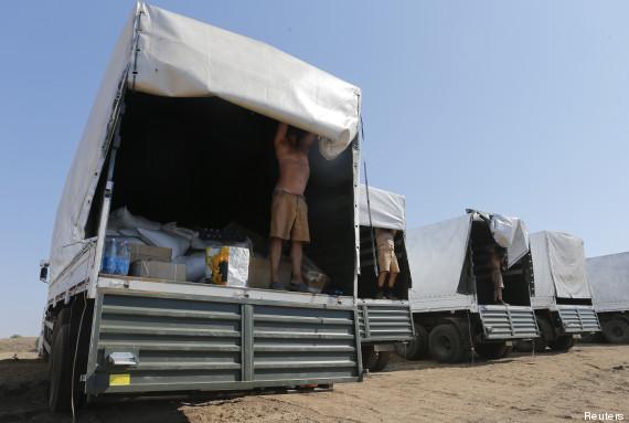 convoi russe ukraine