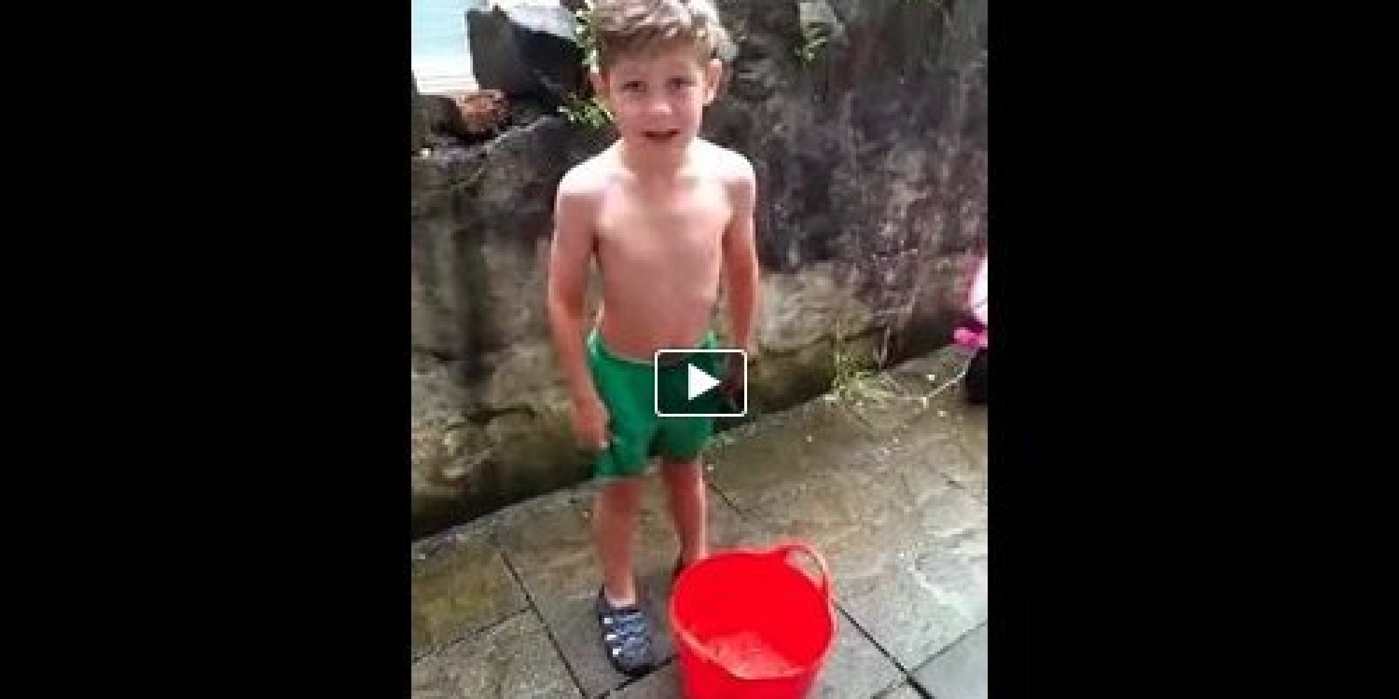 This 6-Year-Old Just Did The Ice Bucket Challenge To ...