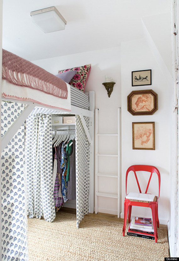 Bed For Small Rooms 11 ways to make a tiny bedroom feel huge | huffpost