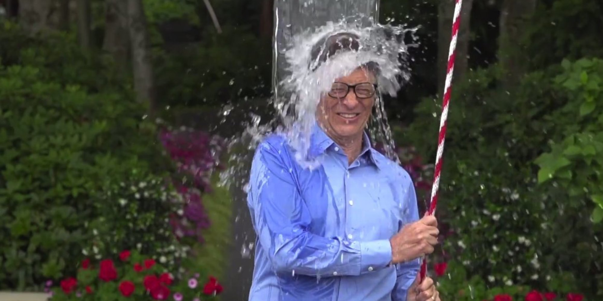 Bill Gates Takes On ALS Ice Bucket Challenge As Only He ...