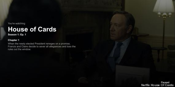 house of cards title sheet