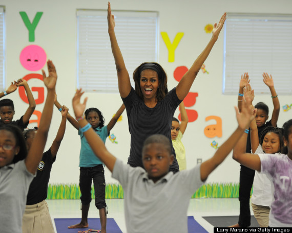 michelle obama exercise