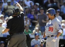 Manny Ramirez First Pitch Ejected Video