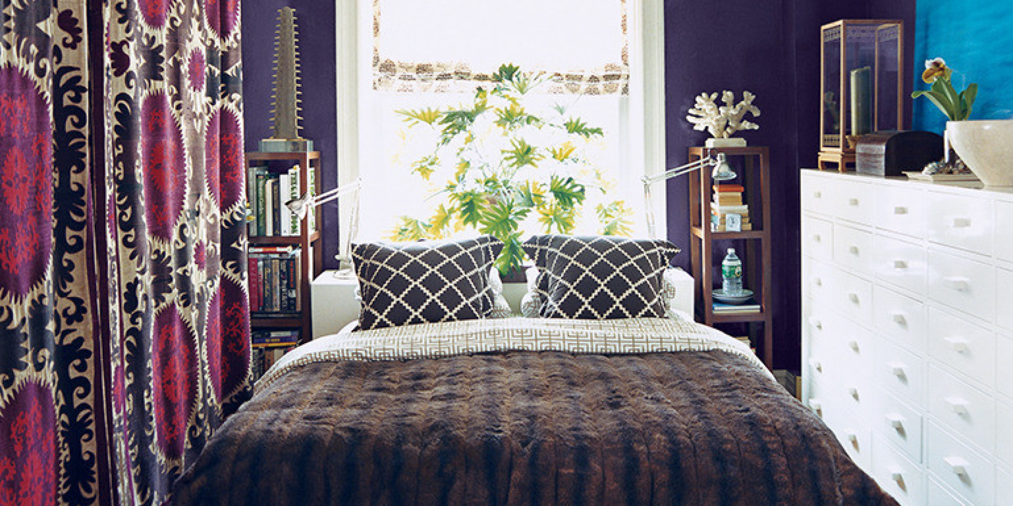 11 Ways To Make A Tiny Bedroom Feel Huge Huffpost