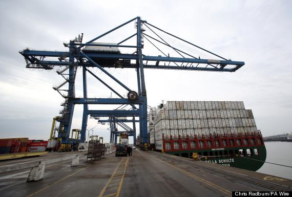 tilbury docks