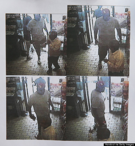 michael brown robbery