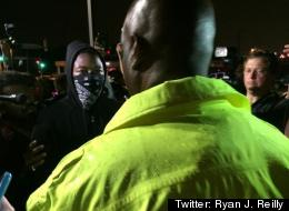 Ferguson On Edge On First Night With Curfew: Police in Ferguson, Missouri cracked down early Sunday on a small group of protesters who defied the midnight curfew imposed by Gov. Jay Nixon (D)