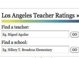 La Times Teacher Report Card