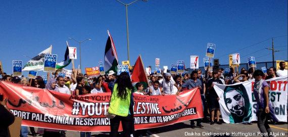 solidarité gaza etatsunis