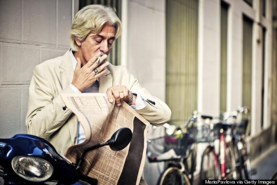 italy cigarette smoking