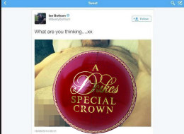Did Beefy Post His Middle Stump On Twitter?