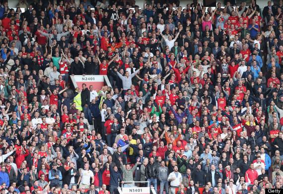 manchester united fans glazer