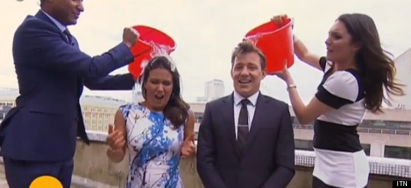 Look Who's Taken The Ice Bucket Challenge