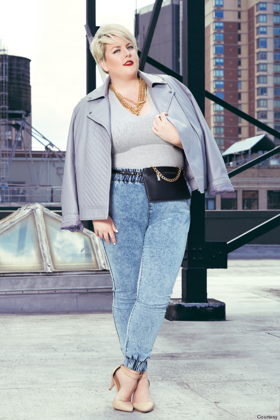 A Solution To The Worst Things About Plus-Size Denim ...