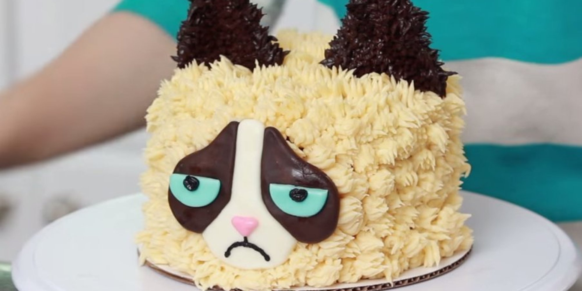 Grumpy Cat Cake Design : Grumpy Cat Makeup Cake Ideas and Designs