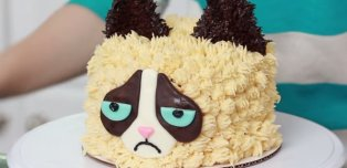 Even Grumpy Cat Would Approve Of This Cake