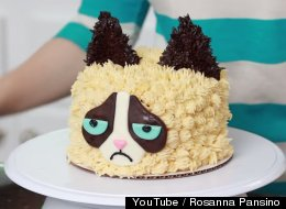 Even Grumpy Cat Would Approve Of This Handsome Cake