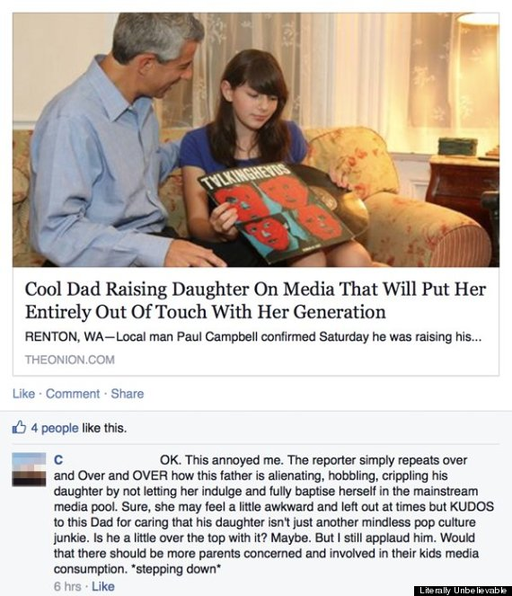 Facebook Is Labeling Posts From The Onion As Satire So You Don T