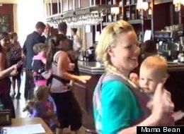 Moms Dance To Celebrate Breastfeeding