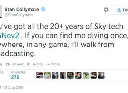 Collymore Vows To Quit If Neville Proves He Dived