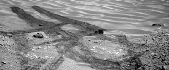 CURIOSITY ROVER SAND TRAP