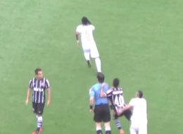 Corinthians Midfielder Does A Di Canio, Gets A Six-Month Ban